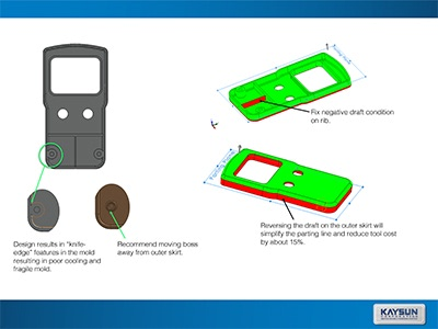 FREE Design for Manufacturability (DfM) Part Design Review