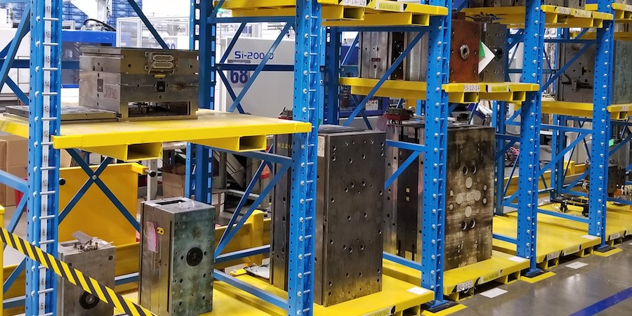 Injection Molder Tooling