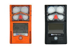Wearable hazardous gas detectors