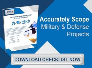 Military Project Scoping Checklist