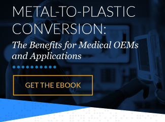 Metal-to-Plastic Conversion for Medical Applications