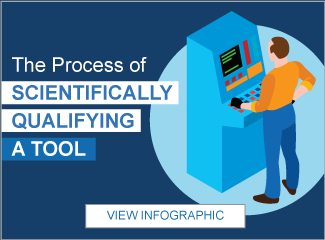 The Process of Scientifically Qualifying a Tool Infographic